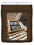 Reflecting Angles Duvet Cover