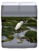 Reflecting At The Tide Pool Duvet Cover