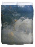 Reflecting Clouds In The Water  Duvet Cover