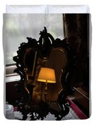 Reflecting On Lamps And Dreams  Duvet Cover