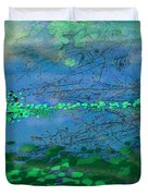 Reflecting Pond Duvet Cover