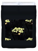 Reflecting Pool Lilies Duvet Cover