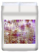 Reflecting Purple Water Duvet Cover