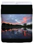 Reflecting The Day Duvet Cover
