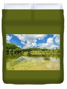 Reflecting Tranquility Duvet Cover