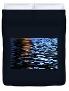 Reflection In Fountain Duvet Cover