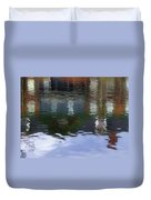 Reflection, No. 1 In Connetquot State Park Duvet Cover
