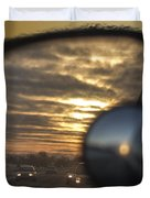 Reflection Of A Sunset Duvet Cover
