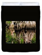 Reflection Of Cypress Knees Duvet Cover