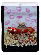 Reflection Of Love Duvet Cover