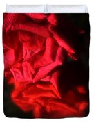 Reflection Of Red Roses Duvet Cover