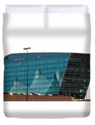 Reflection Of The Mountains Duvet Cover