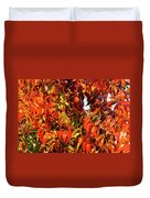Reflection Of The Season Duvet Cover