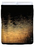 Reflection On A Sunset Duvet Cover
