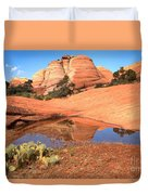 Reflections After The Storm Duvet Cover