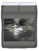 Reflections And Dark Ice #2  Duvet Cover