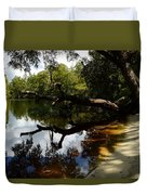 Reflections And Shadows Duvet Cover by Warren Thompson