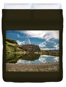 Reflections At The Pond Duvet Cover