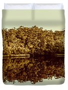 Reflections From Cockle Creek  Duvet Cover