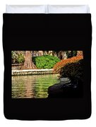 Reflections From The Riverwalk Duvet Cover