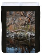Reflections Iguana Duvet Cover