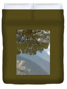 Reflections In A Lake - Poster Edges Duvet Cover
