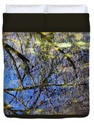 Reflections In A Pond Duvet Cover