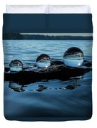Reflections In Crystal Duvet Cover