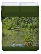 Reflections In The Pond Duvet Cover