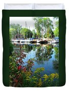 Reflections In The Pool Duvet Cover