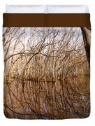 Reflections In The Swamp Duvet Cover