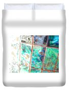 Reflections In Time Duvet Cover