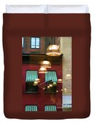 Reflections Light Buildings  Duvet Cover