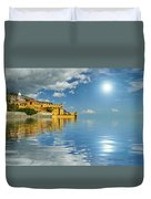 Reflections -madeira Duvet Cover