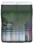 Reflections Of A Canada Goose Duvet Cover