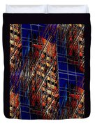 Reflections Of A City 3 Duvet Cover