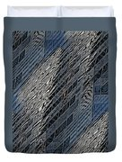 Reflections Of A City 4 Duvet Cover