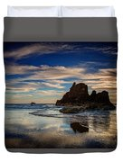 Reflections Of Arcadia Duvet Cover