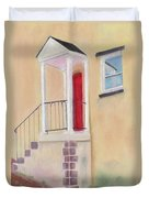 Red Door - Baltimore Duvet Cover