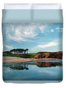 Reflections Of Budleigh Duvet Cover