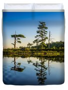 Reflections Of Dawn Duvet Cover