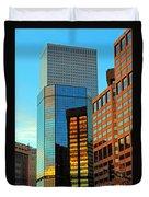 Reflections Of Denver Duvet Cover