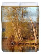 Reflections Of Spring Duvet Cover