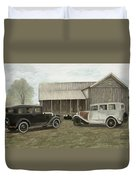 Reflections Of The Past Duvet Cover