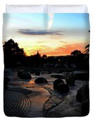 Reflections Of The Sky  Duvet Cover