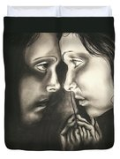 Reflections Of The Soul Duvet Cover