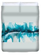 Reflections Of The Universe No. 2040 Duvet Cover