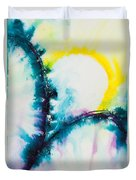 Reflections Of The Universe No. 2058 Duvet Cover