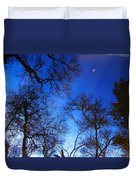 Reflections Of Winter Duvet Cover