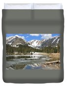 Reflections On Chinns Lake 6 Duvet Cover